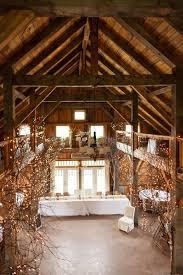 rustic country barn wedding decor with lights barn wedding lights