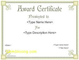 Printable Awards And Certificates Blank Award Certificate Templates Nasiloluyo Co