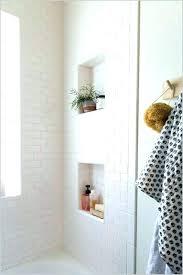 recessed bathroom shelves shower shelving for tile a comfy best shelf ideas on tidy classic unit recessed bathroom shelves