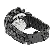 hip hop watches custom joe rodeo mens black diamond watch 36 7ct hip hop watches custom joe rodeo mens black diamond watch 36 7ct back