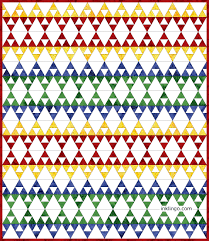60 Degree Triangle Quilts – All About Inklingo Blog & This ... Adamdwight.com
