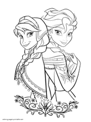 When frozen 2 film came out, everyone got excited again about. Frozen Coloring Pages Free Printable Pictures For Girls