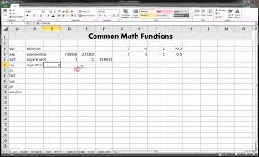 excel math functions