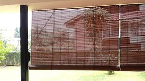 outdoor bamboo blinds dark brown rectangle vintage bamboo roller shades interior stained design awesome bamboo roller