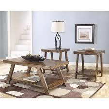 ashley bradley coffee table set