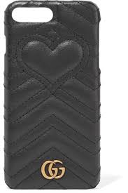 gucci 7 plus. gucci | gg marmont quilted leather iphone 7 plus case net-a-porter.com c