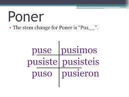 Ppt Preterit Tense For Irregular Verbs Powerpoint