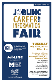 career fair job career news from the memphis public library joblinc career and information fair 7 17 12