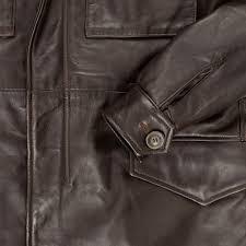 leather m 65 field jacket