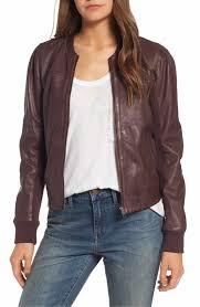 main image hinge shrunken leather er jacket