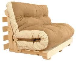 futon sofa bed. Darwin Futon In Coffee Sueded Fabric Sofa Bed E