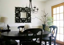 Best Black Dining Room Chairs Photos AWconsultingus - Black oval dining room table