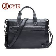 <b>JOYIR Men</b> Briefcases <b>Genuine Leather</b> Business Briefcase 15 ...
