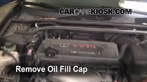 How to Add Oil Toyota Camry (2002-2006) - 2006 Toyota Camry LE 2.4L ...