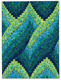 Quilt Inspiration: Twist-and-turn Bargellos: Cosmic Twist, 60 x 80 ... & Quilt Inspiration: Twist-and-turn Bargellos: Cosmic Twist, 60 x 80. Bargello  Quilt PatternsBargello ... Adamdwight.com