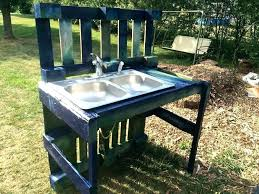 outdoor bar sink with faucet for large size of kitchen outside fauce outdoor faucet sink