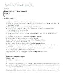Marketing Experience Resume – Spacesheep.co