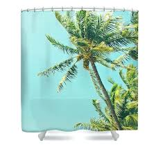 palm tree shower curtains trees curtain featuring the photograph beach coconut bed bath and beyond
