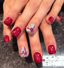Easy Christmas Designs For Your Nails 10 Adorable Christmas Nail Designs Xmas Nails Christmas