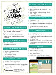 Baby Shower Planning Checklist Get This Printable That Timeline