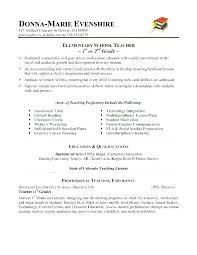 Resume Template For Teacher Beauteous Resume Template Teacher Find Resume Template Elementary Teacher