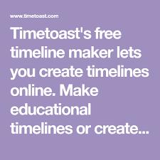 Timetoasts Free Timeline Maker Lets You Create Timelines
