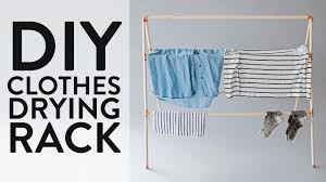 Make This: DIY Clothes Drying Rack - YouTube - HD Wallpapers
