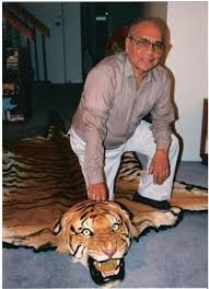 rus peter s father and the tiger skin rug he mentioned back when he was on the podcast