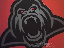 Adam Eargle - 1 Color Sports Logo Project