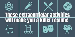 Extra Curricular Activities For Resumes These 10 Extracurricular Activities In Resume Will Land You Your