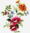 Цветы простые