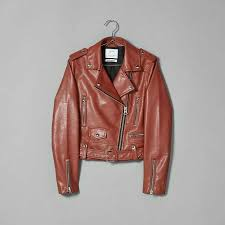 details about new bershka faux leather zip up er biker motorcycle jacket burdy size s