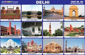 Spectrum Educational Charts Chart 305 Delhi