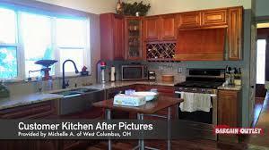Bargain Outlet Kitchen Design Virtual 3d Madison Cabernet Kitchen Design By Vinnie C Of Columbus Oh