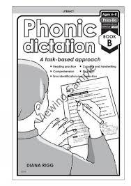 pr 6334uk phonic dictation book b