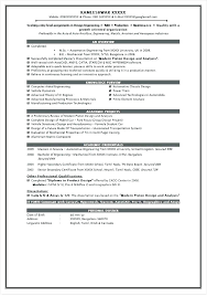 Sample Resume Mechanical Engineer Extraordinary Academic Projects In Resume Mmventuresco