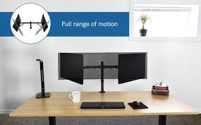 dual monitor desk mount stand v 002 10 v elegant photo
