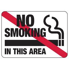 No Smoking Signage No Smoking In This Area Graphic Industrial Smoking Signs Seton