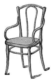 chair clipart black and white. Brilliant White And Chair Clipart Black White T