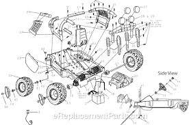 power wheels 74790 9993 parts list and diagram ereplacementparts com