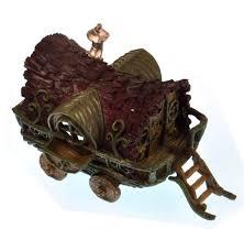 sentinel gypsy wagon fairy home fiddlehead fairy garden collection