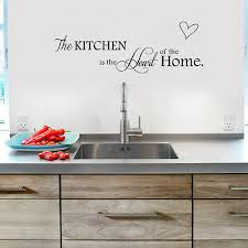 home decor diy removable kitchen words