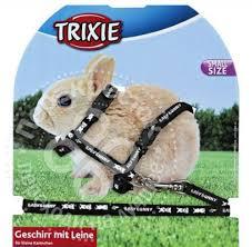 Купить <b>Шлейка</b> для грызунов <b>Trixie для</b> крольчат 20-33см*8мм ...