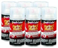 Duplicolor Perfect Match Color Chart Details About Duplicolor Clear Coat Bcl0125 8 Oz Spray Paint Pack Of 6