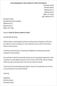 Acknowledgement Letter Filename My College Scout