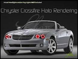 04-08 Chrysler Crossfire LED Halo Rings Headlights Bulbs