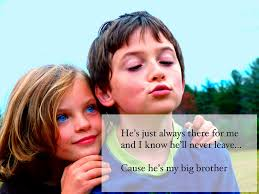Lovely Collection Of Brother And Sister Quotes Pelfusioncom