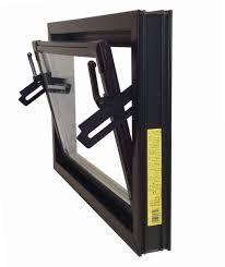 Fenster Wasserschlitzkappen Braun Kellerfenster Kunststoff Fenster