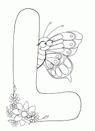 Letter L Coloring Pages | All Coloring Pages