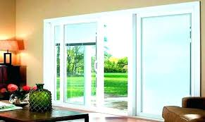 three panel patio door 3 panel sliding glass door blinds fixed panel sliding shower door 4